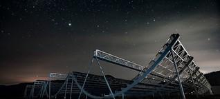 Mit der Halfpipe das All erforschen: Neue Teleskope für die Astronomie | MDR.DE