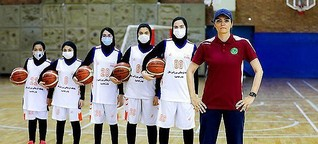 Iranian Female Basketball Coach Finds Success in Qatar