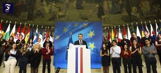 Macrons Europäische Universitäten: Blockseminar in Paris