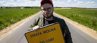 """Dieser schwule Pole kämpft gegen """"LGBT-freie Zonen"""" in seiner Heimat – und hat NOIZZ leider nur Erschreckendes erzählt"""