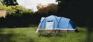 Camping im Garten: Andere Gärten, andere Sitten