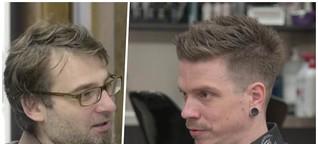 Branche am Corona-Abgrund: Friseur im großen Video-Interview
