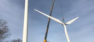 Der Strombedarf steigt, doch alte Windräder werden abmontiert