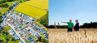 Ökonomischer Fehlanreiz: Bauland zurückzuhalten darf sich nicht lohnen
