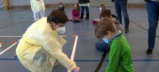 Pilotprojekt im Kreis Steinburg: Popel-Test bei Grundschülern