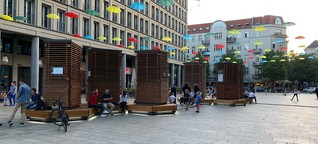Moostürme sorgen für frische Luft in der Stadt