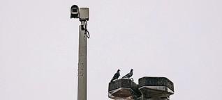 Überwachung im öffentlichen Raum: Posse um Polizeikameras