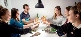 """""""Social Dining"""": Warum sich Magali und Philipp Fremde zum Essen einladen"""
