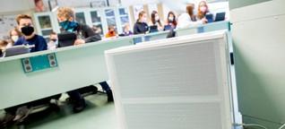 WDR-Umfrage: Mobile Luftreiniger in Schulen bleiben die Ausnahme