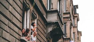 """Fotoprojekt """"Stuttgart trotz(t) Corona"""": Die Elisabethenstraße will wieder feiern"""