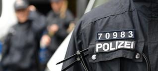 Offenbar Probleme bei Polizei-Kennzeichnung