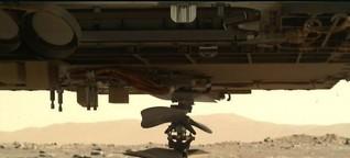 Mars-Helikopter Ingenuity: Abgesetzt und bereit zum Start | MDR.DE