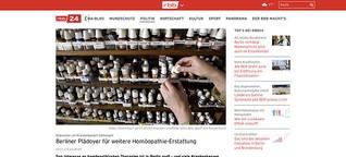 Berliner Plädoyer für weitere Homöopathie-Erstattung