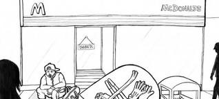 """Graphic Novel von Obdachlosen - """"Sie haben ein Recht darauf, ihre Geschichten selbst zu erzählen"""""""