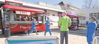 Potsdamer Unternehmer machen Klinik-Mitarbeiter satt