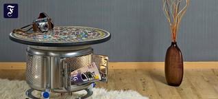 Möbel und Wohnaccessoires: Alle wollen Unikate - auch aus Müll