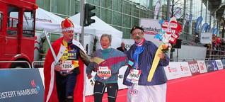 Hamburg-Marathon:  Antje läuft zum letzten Mal