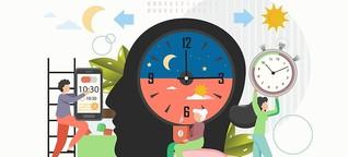 Schlaftyp Eule oder Lerche: Wie man es schaffen kann, die innere Uhr zu verändern