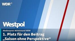 """Medienpreis Mittelstand NRW für TV-Beitrag """"Saison ohne Perspektive"""""""