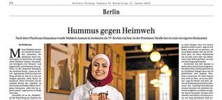 """Syrisches Restaurant """"Malakeh"""" in Berlin-Schöneberg bietet arabische Küche"""