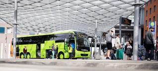 Arbeitsbedingungen bei Flixbus - Risiko auf Rädern