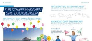 BSB Bordzeit 2021: Kinderseiten für das Magazin der Bodensee-Schiffsbetriebe