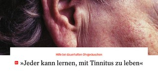 Tinnitus: So lernt man, mit dauerhaften Ohrgeräuschen zu leben