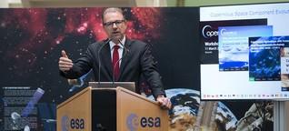 """Neuer ESA-Chef Aschbacher: """"Wir müssen bereit sein, mehr Risiko einzugehen"""""""