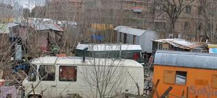 Polizei räumt Wagenplätze in Leipzig: Eroberung der Wagenburgen