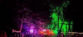 Als hunderte Partypeople die Sillschlucht zum Dancefloor machten