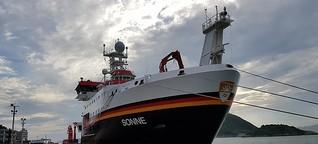 Mit dem Forschungsschiff unterwegs: Megacities und ihre Folgen für das Meer | Bayern2Radio
