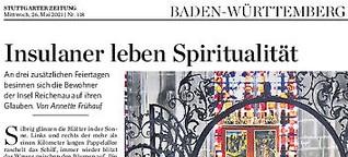 Insulaner leben Spiritualität