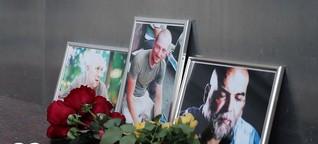 Rätsel um Mord an drei russischen Journalisten | DW |