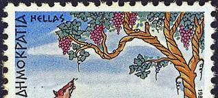 Der Fuchs und die Trauben - Aesop Fabel