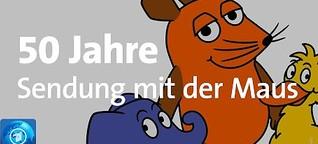 """Tagesschau: Die """"Sendung mit der Maus"""" feiert 50. Geburtstag"""