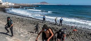Flucht über den Atlantik: Die Kanaren stoßen an ihre Grenzen | ORF