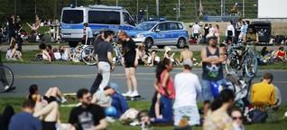 """Jugendliche nach dem Corona-Lockdown: """"Wenn eine Streife kommt, verstecken wir den Alkohol"""""""