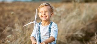 Mit großen Schritten in eine grüne Zukunft: Nachhaltig investieren für Kinder