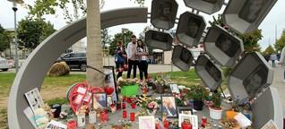 Attentat in München 2016: Denkmal mit falscher Inschrift