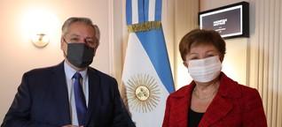 Argentinien bekommt Rückenwind für neue Verhandlungen mit dem IWF