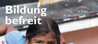 Bildung befreit: Die Ausbildungshilfe in Indien