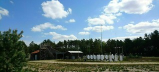 Luftmessstation in der Lüneburger Heide: Hier ist die Luft rein