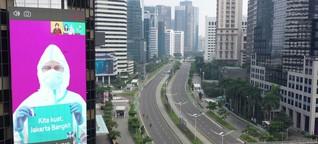 Indonesien geht in den Teil-Lockdown