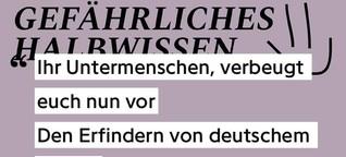 GEFÄHRLICHES HALBWISSEN 004: DEUTSCHER HUMOR
