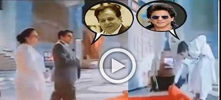Dilip Kumar & Shah Rukh Khan viral video made everyone cried