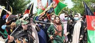 Civil war broke out in Afghanistan after US army withdrew, women hold up arms too