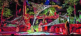 """""""Der Name der Rose"""" als Musical-Spektakel bei den Luisenburg-Festspielen"""