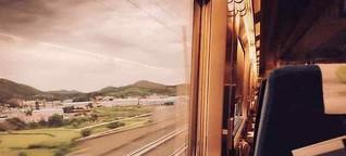 Reise mit der Bahn