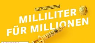 Milliliter für Millionen