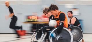 Rollstuhlrugby: Zwischen Autoscooter und Schach